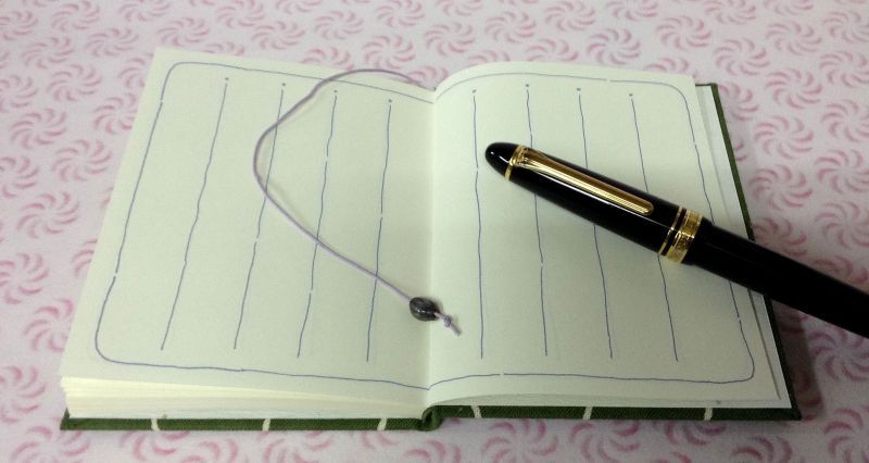 ◎俳句を始められた方用の 「蕨ぜんまい柄」の俳句帖