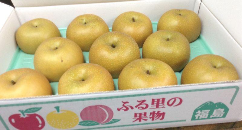 **フル-ツ大国~福島県からみずみずしい梨が届きました。**