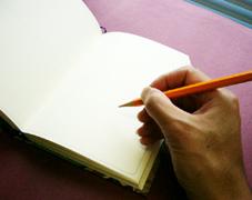 お散歩小型日記帳