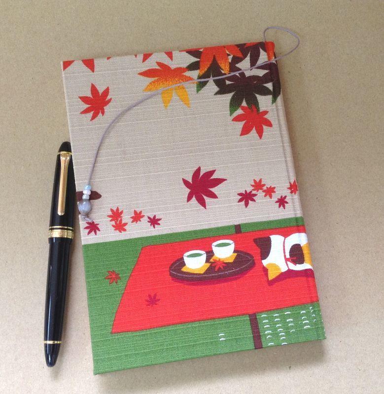 ◎猫でよかった。 縁側日記帖  ◎武士の内職? いいえ 京都・海文舎印刷の手製本です。