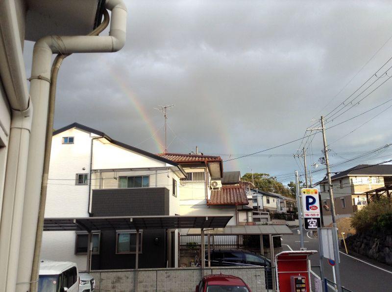 ◎◎二本の虹