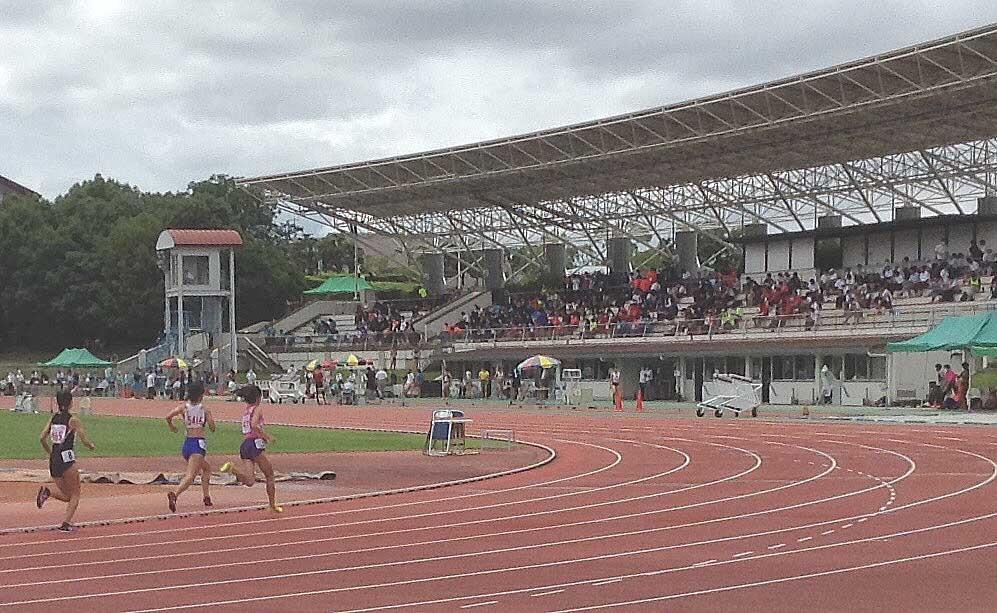 第75回京都陸上競技選手権大会  山城総合運動公園(太陽が丘公園)陸上競技場