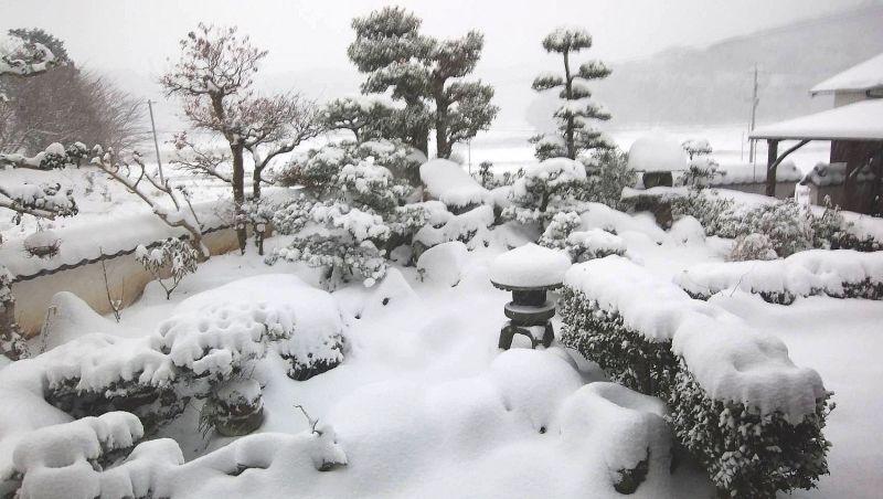 ***大分県・国東半島の雪景色***
