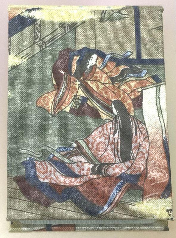 ◎紫式部さんと清少納言さんが仲良く銀ブラ ◎お散歩ミニ♪ミニ手帳を持って ◎京都手作りお散歩